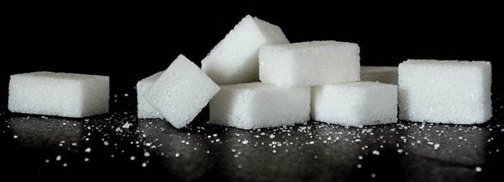 ingestão de açúcar