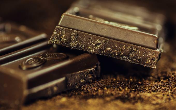 Quadrado de chocolate