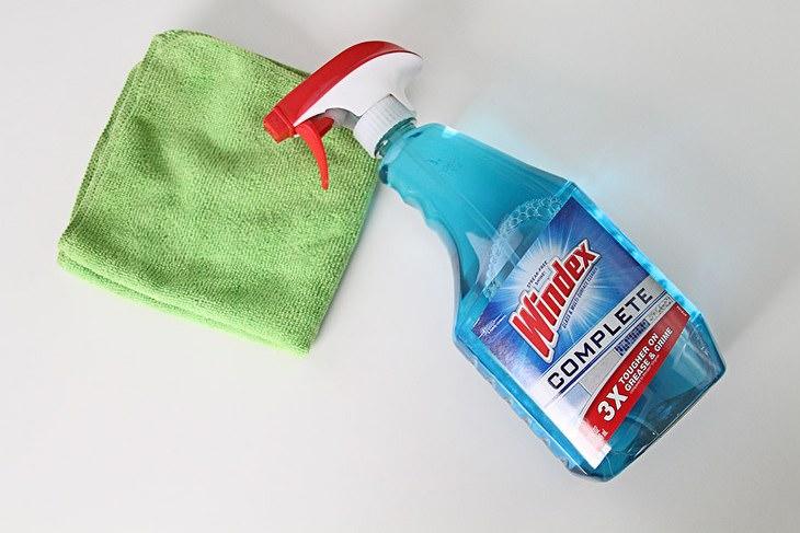 utilidades do limpador de vidro
