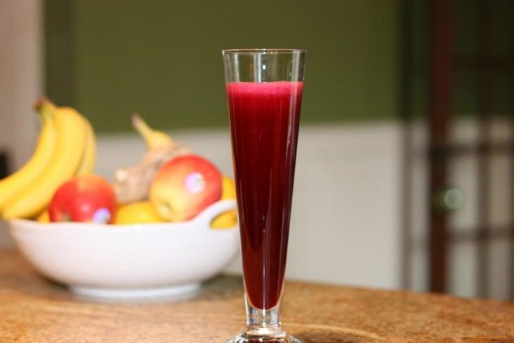 sucos para combater anemia
