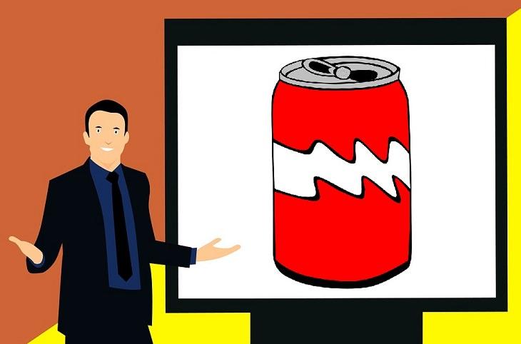 piada do publicitário vendendo refrigerante nas arábias