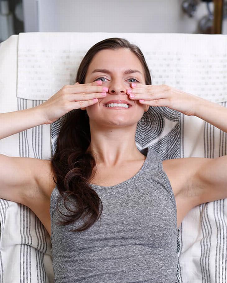 exercícios faciais