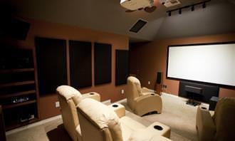 televisão na sala
