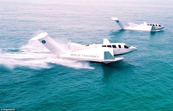 Conheça o Airfish 8, que é avião e balsa ao mesmo tempo