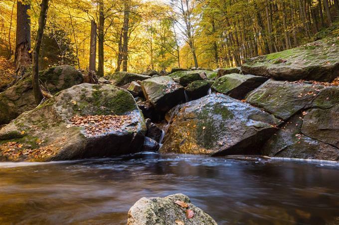 pedras no rio