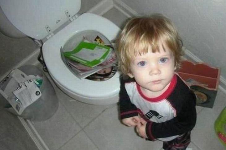 fotos hilárias de pais e filhos