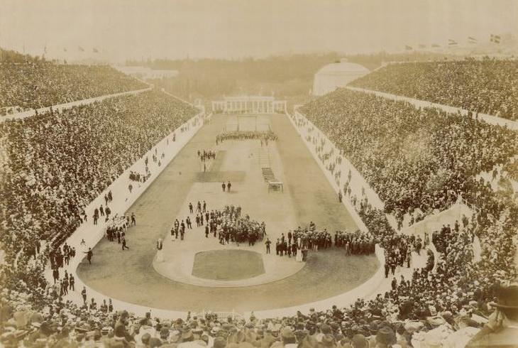 fotos das olimpíadas de 1896