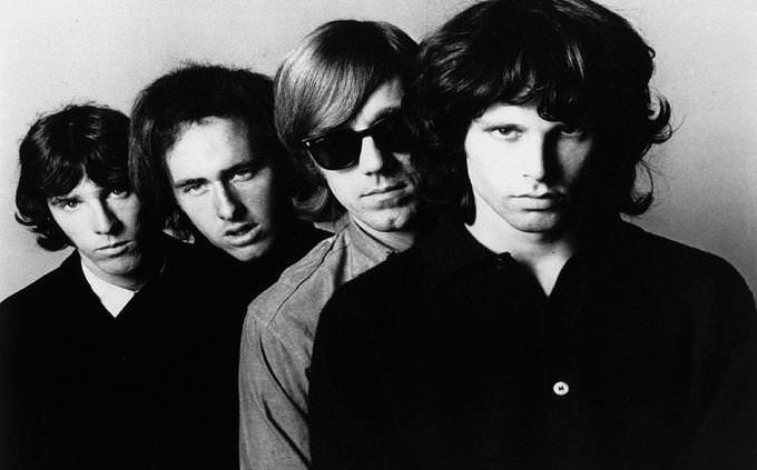 The Doors com o vocalista Jim Morrison