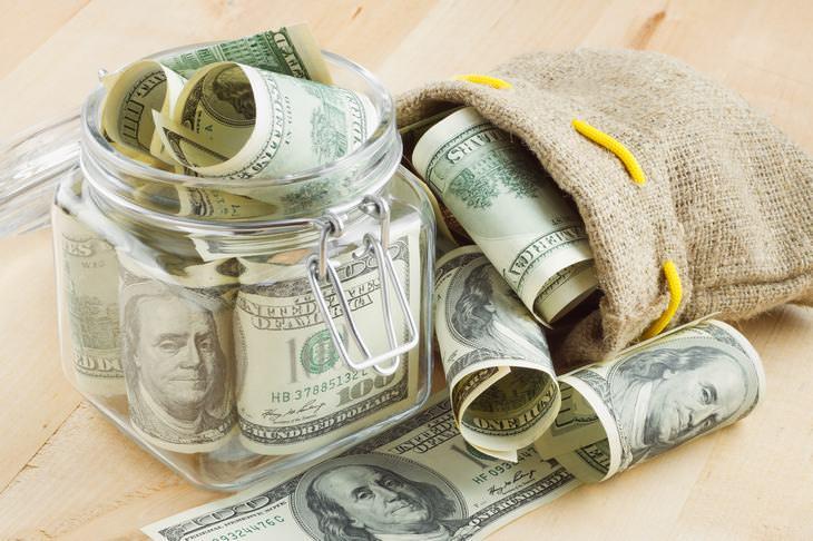 guardar dinheiro