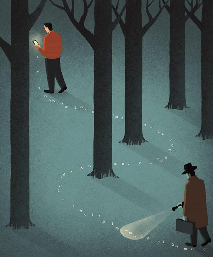 ilustrações sobre mundo atual