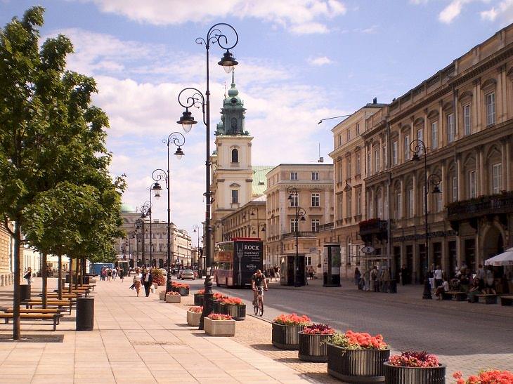 12 atrações turísticas de varsóvia
