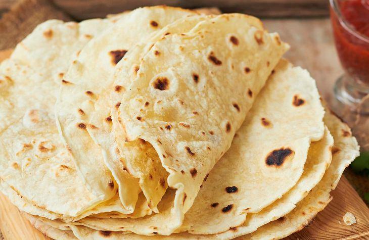 tortillas caseiras