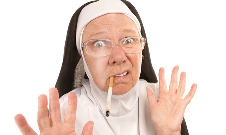 piada de freira