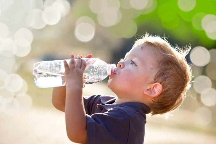 hidratação no verão