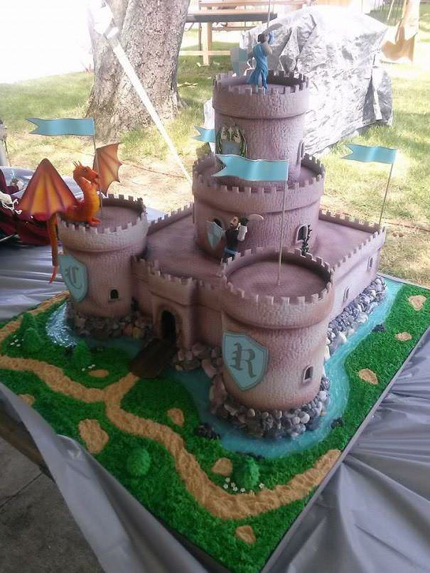 arte em bolos