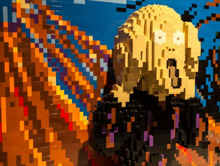 Esculturas Lego