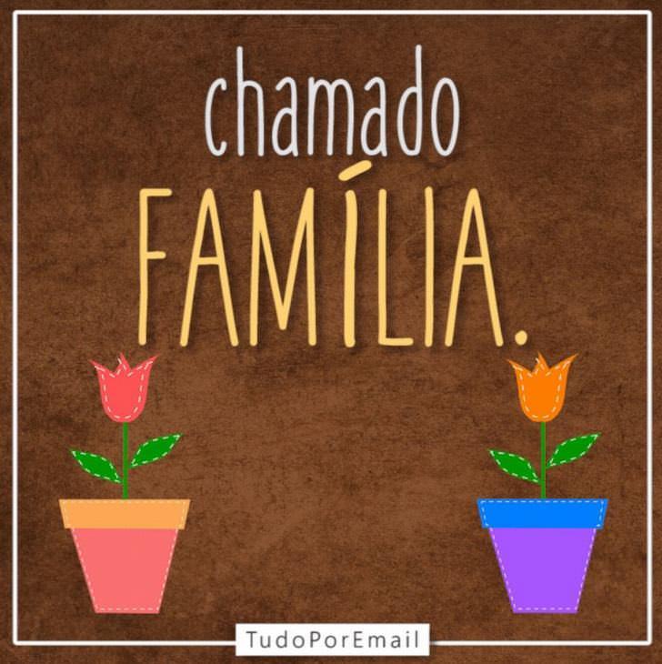 cartão gif família