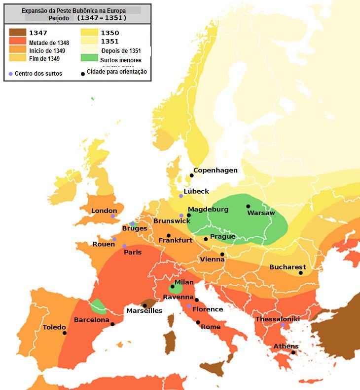 6 epidemias mortais da nossa história peste bubônica