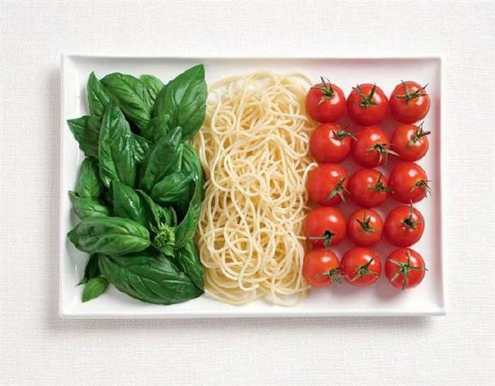 Bandeiras de comida!