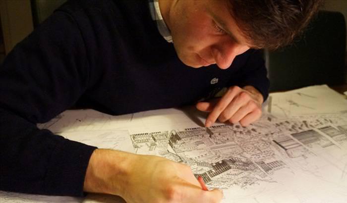 Os Impressionantes Desenhos de Stefan Bleekrode