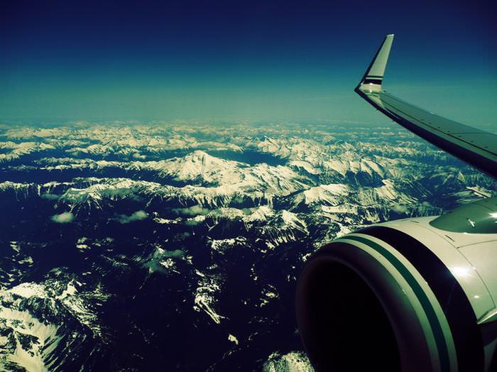 paisagens, janela