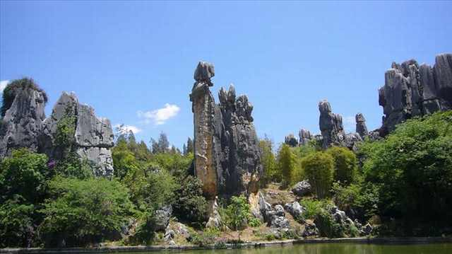A Floresta de Pedras Shilin
