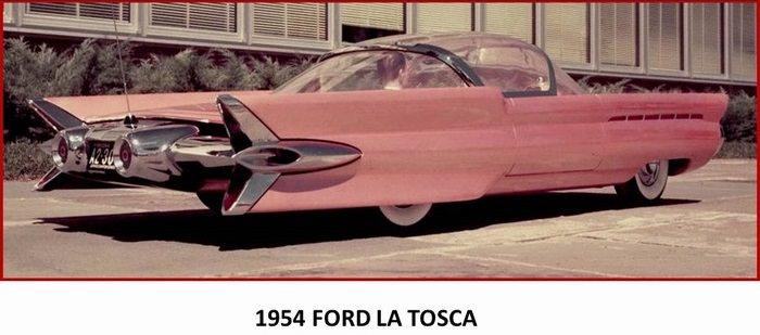 carros anos 1950