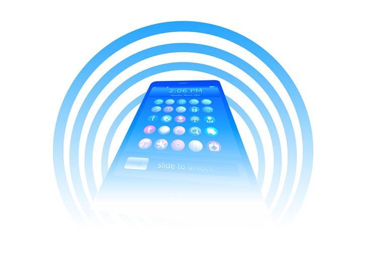 radiação no celular