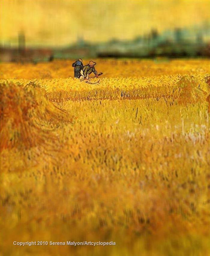 O magnífico trabalho de Van Gogh