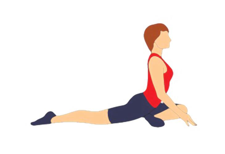 7 poses simples da ioga para ajudar a tratar sua dor do nervo ciático