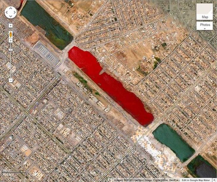 descobertas misteriosas do Google Earth
