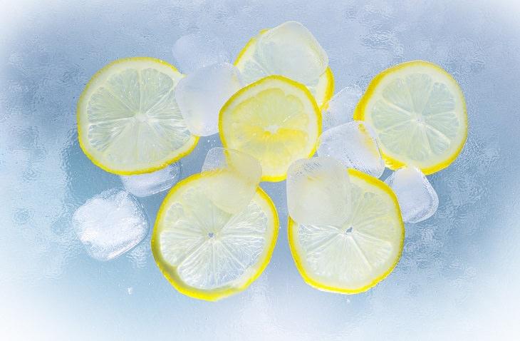 razões para congelar limão