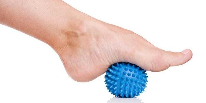 exercícios dores nos pés