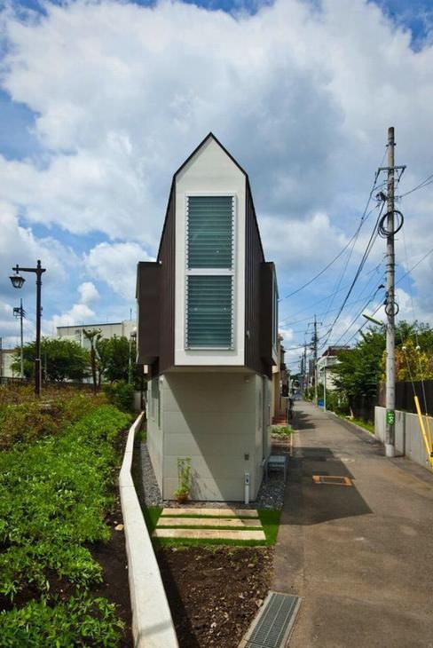 A casa mais estreita do mundo?