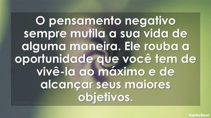 Se Você Está Cansado da Negatividade, Leia Isso!