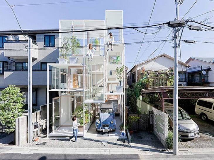 Fotos inéditas de casas diferentes e maravilhosas