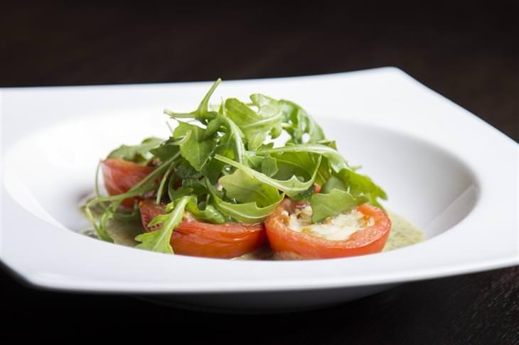 Receita de tomate com parmesão
