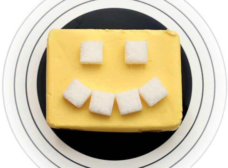 usos alternativos da manteiga