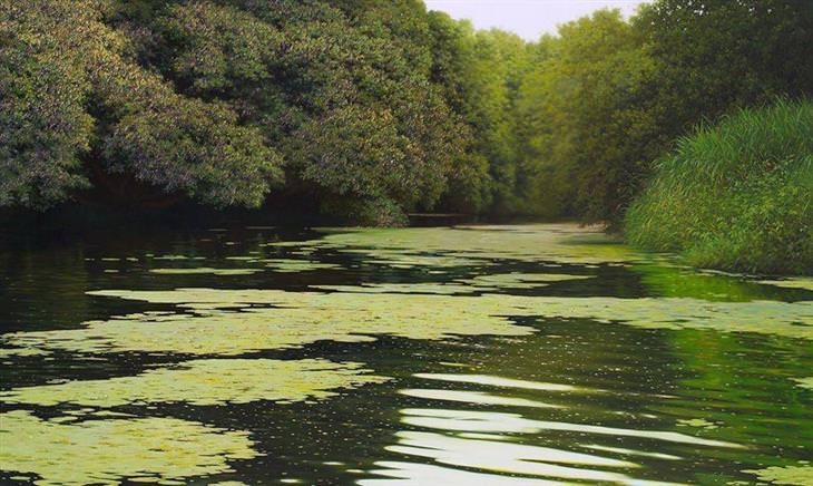 pinturas da natureza