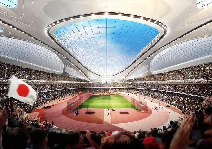 estádio olimpíadas japão 2020