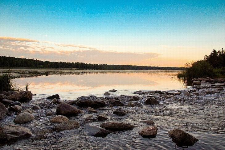 nascente rio