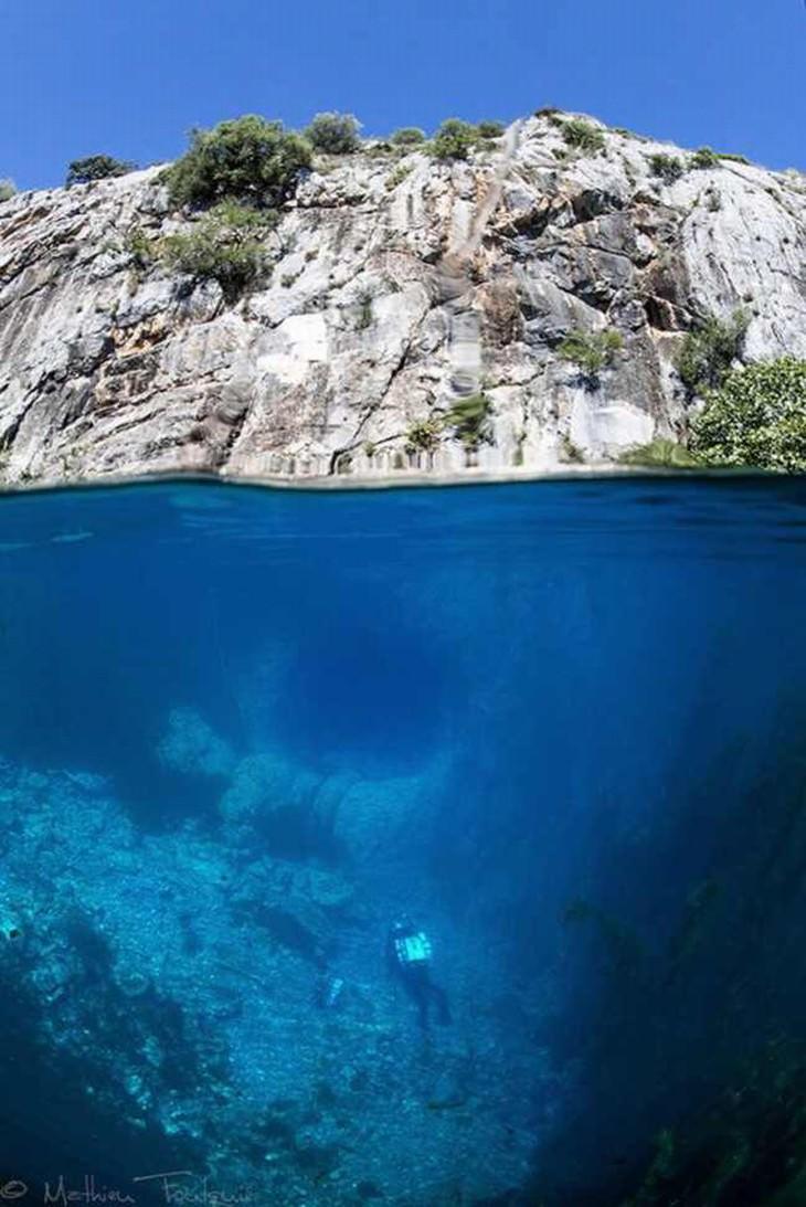 Incríveis Cenas Que Vemos Debaixo D'Água!