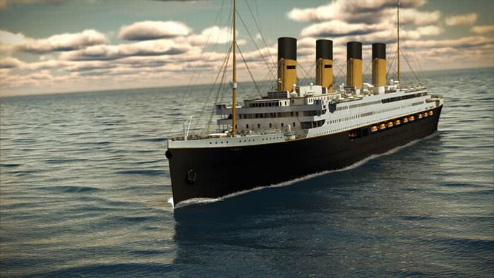 Uma réplica perfeita do Titanic