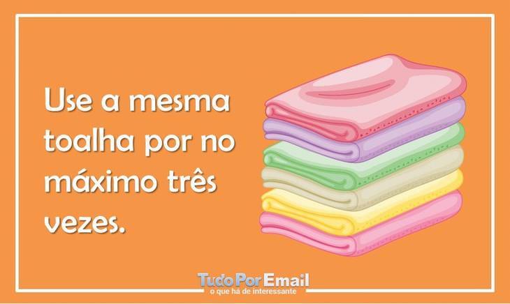 como cuidar das toalhas de banho