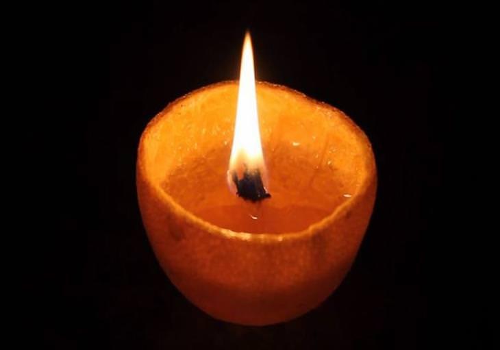 vela de laranja