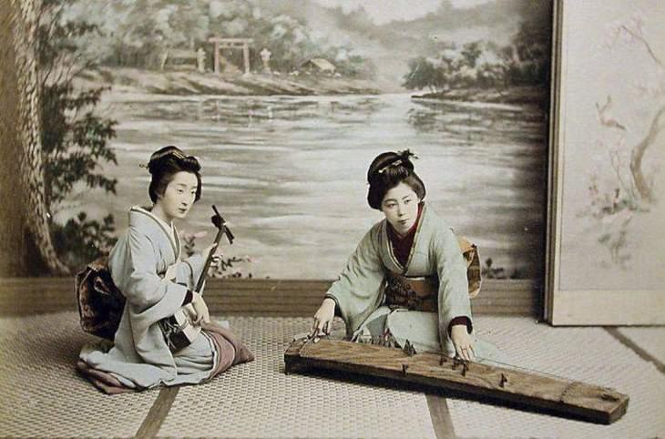 fotos do japão no século 19