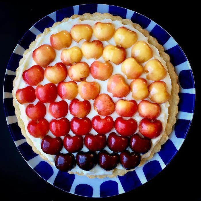 as tortas artísticas da chef americana Lauren Ko