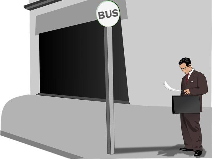 piada de ônibus