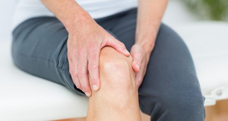 hidrogel nos joelhos