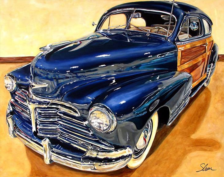 A arte de carros por Shannon Fannin,